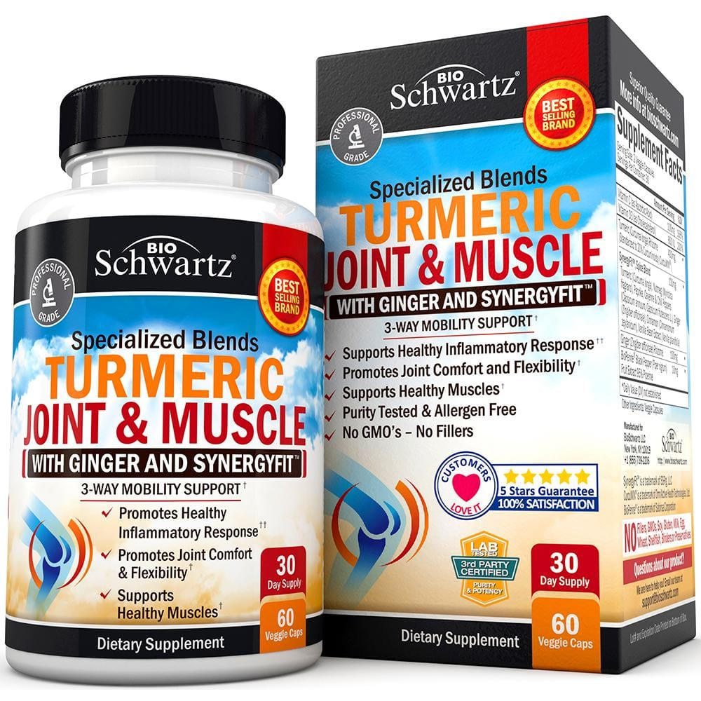 Turmeric Joint & Muscle Capsules