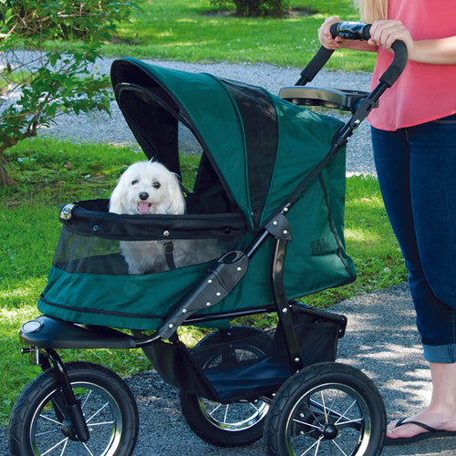 Jogger No-Zip Stroller, Forest Green