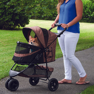 Special Edition No-Zip Stroller, Chocolate