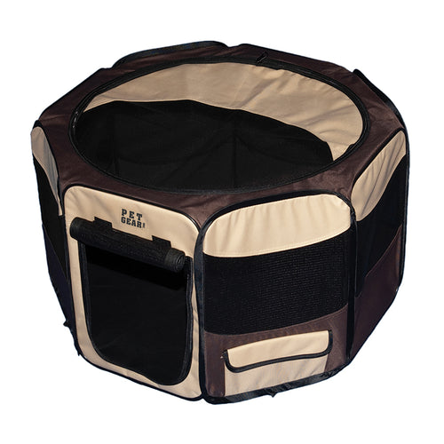 Octagon Pet Pen With Removable Top, 29