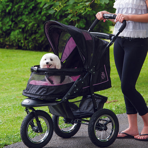 NV No-Zip Pet Stroller, Rosé
