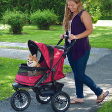 Jogger No-Zip Stroller, Rugged Red