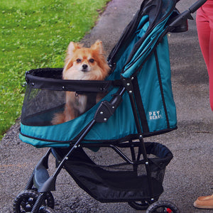 Happy Trails No-Zip Stroller, Emerald