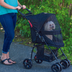 Happy Trails Lite No-Zip Pet Stroller, Jaguar