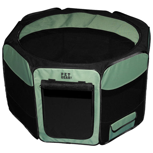 Octagon Pet Pen With Removable Top, 46