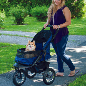 Jogger No-Zip Stroller, Midnight River
