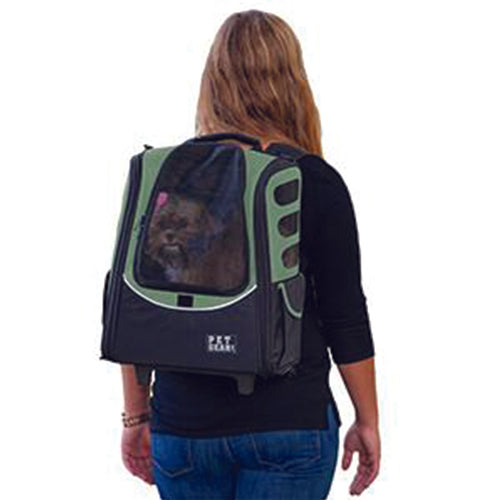 I-GO2 (Escort) 5-in-1 Pet Carrier [Backpack/Tote/Carrier/Car Seat], Sage