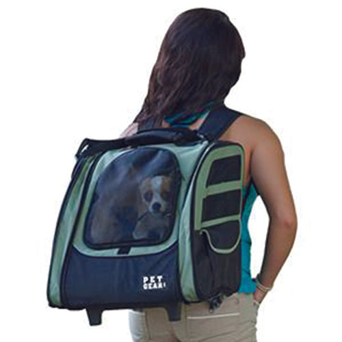 I-GO2 (Traveler) 5-in-1 Pet Carrier [Backpack/Tote/Carrier/Car Seat], Sage