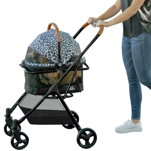 View 360 Stroller, Booster and Carrier Travel System, Grey Animal