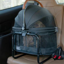 View 360 Stroller, Booster and Carrier Travel System, Jet Black