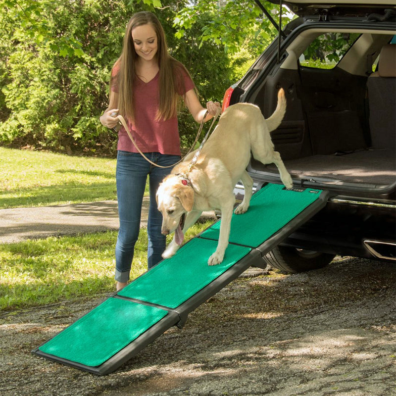 Tri-Fold Pet Ramp with SupertraX