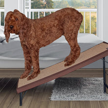 Ultra-Lite Free-Standing Pet Ramp with SupertraX