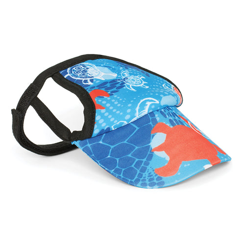 Visor, Flaming Blue Tuga