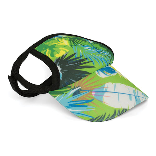Visor, Tropical Treasure Green