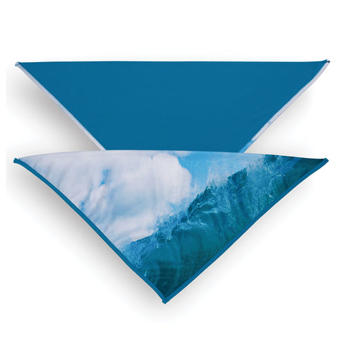 Bandana, Wave/Teal