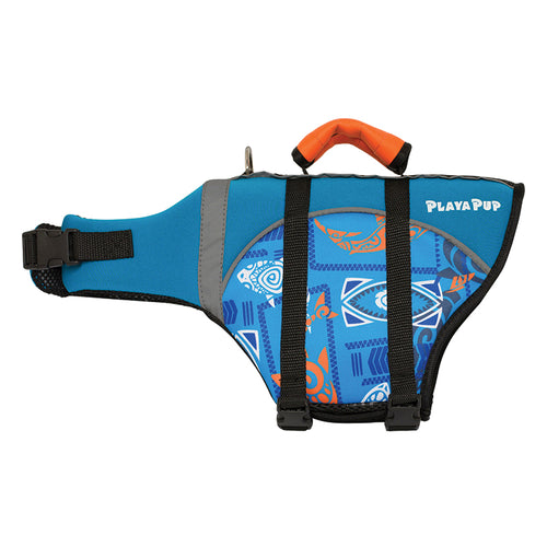 Flotation Device, Tribal Shark Blue