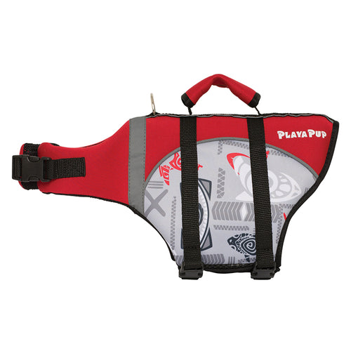 Flotation Device, Tribal Shark Red