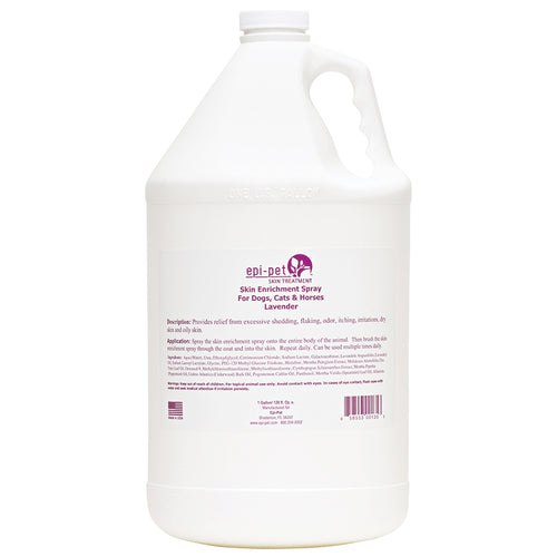 Epi-Pet Skin & Coat Enrichment Spray, Gallon, Lavender