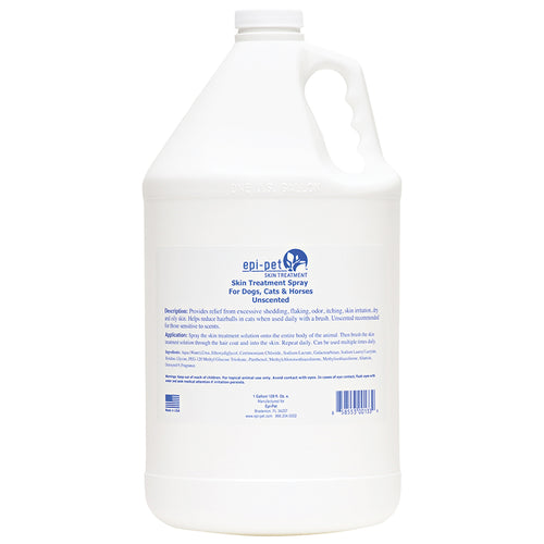 Epi-Pet Skin & Coat Enrichment Spray, Gallon, Unscented