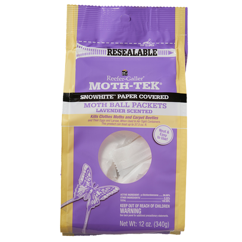 Reefer-Galler Moth Ball Packets - Lavender Scented 12 oz.