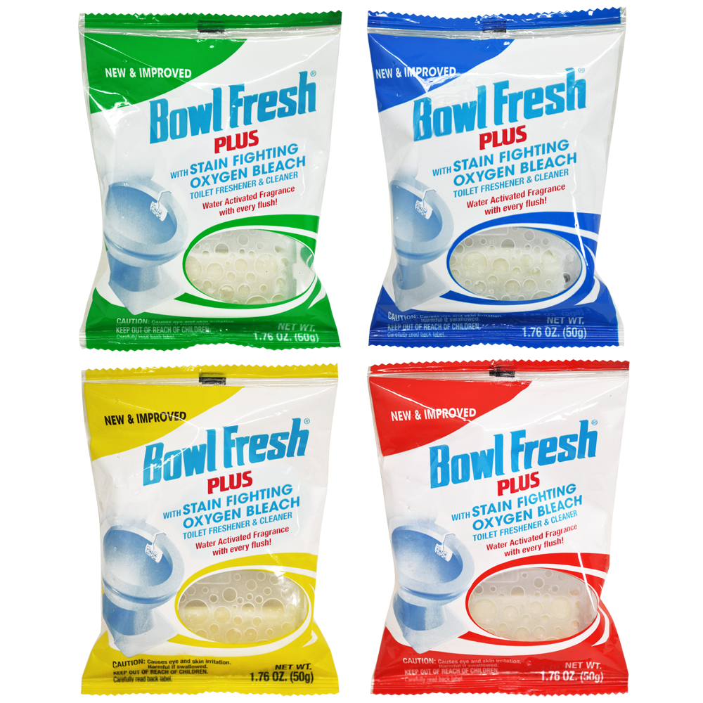 Bowl Fresh Plus Bowl Cleaner and Deodorizer (4 Count)