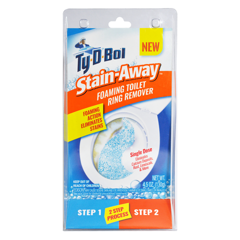 Ty-D-Bol Stain Away Foaming Toilet Ring Remover