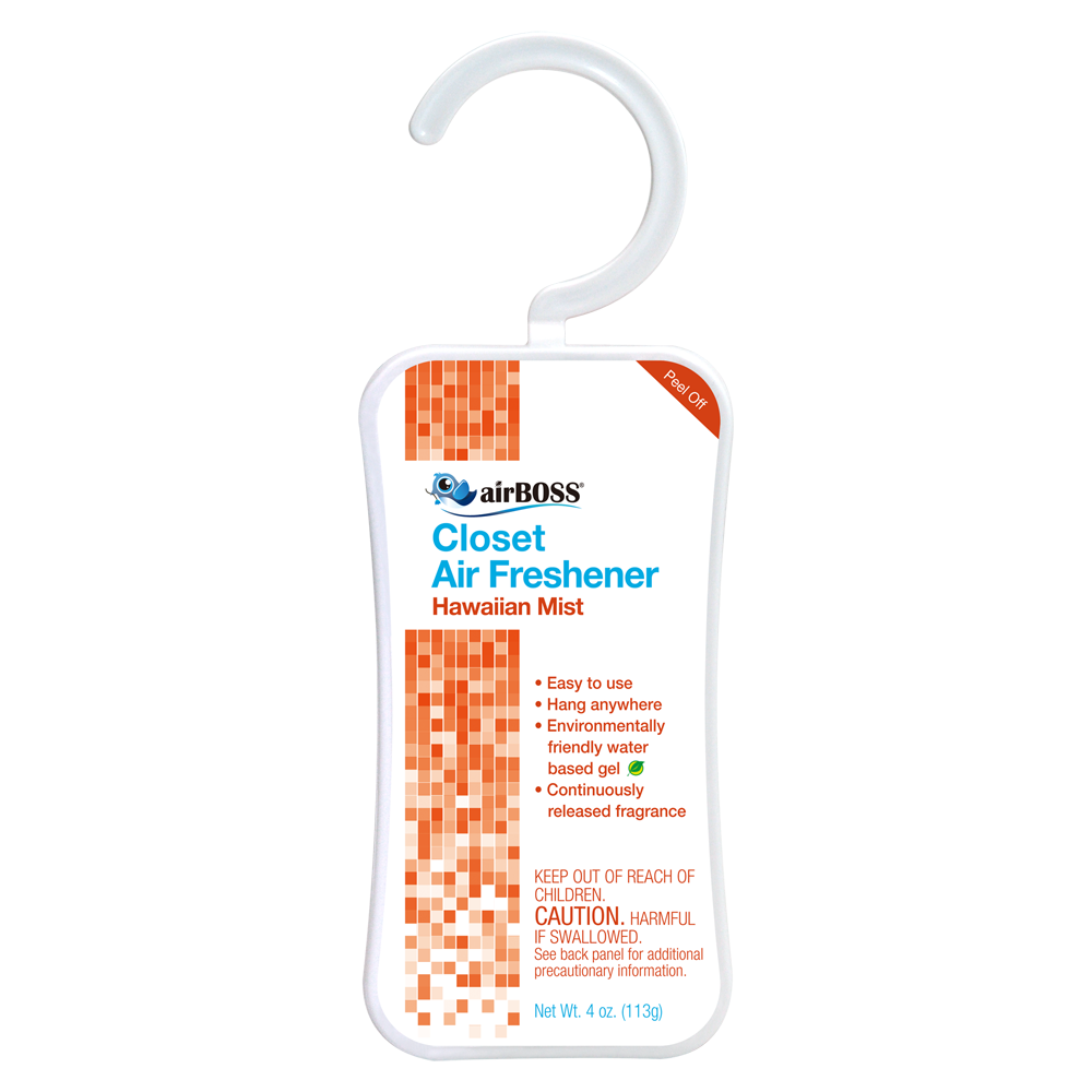 Charmant AirBOSS Closet Air Freshener   Hawaiian Mist (2 Count)