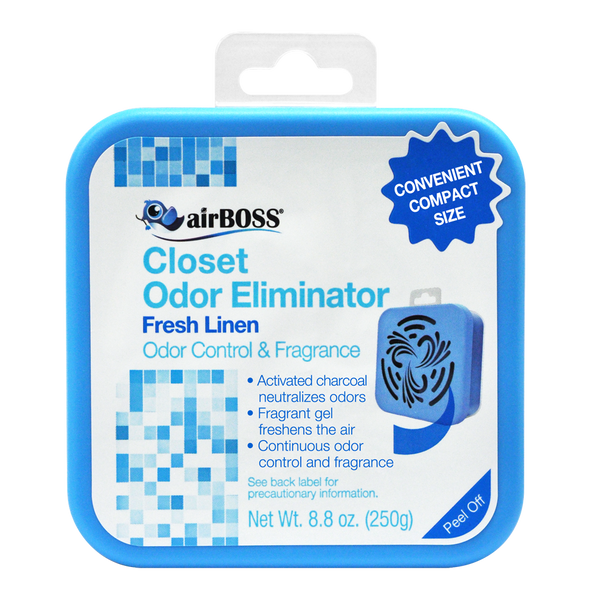 airBOSS Closet Odor Eliminator - Fresh Linen