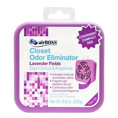 airBOSS Closet Odor Eliminator - Lavender Fields