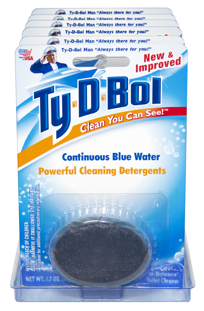 Ty D Bol Blue Toilet Bowl Cleaner Tablet 3 Count