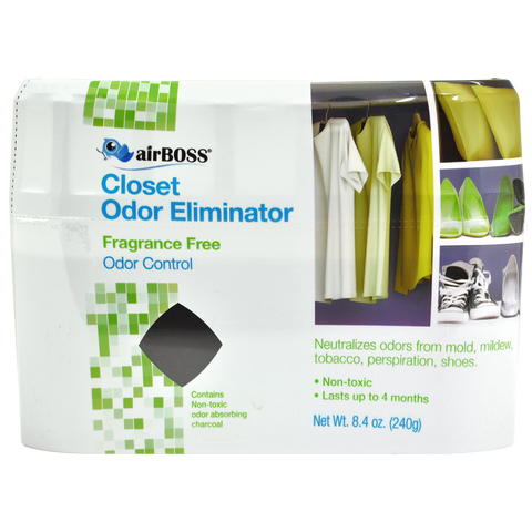 airBOSS Closet Odor Eliminator