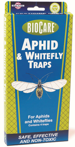 BioCare Aphid & Whitefly Traps 4 Pack