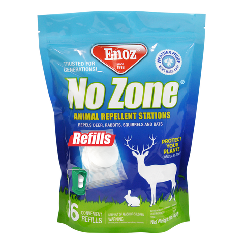 Enoz No Zone Animal Repellent Stations Refills