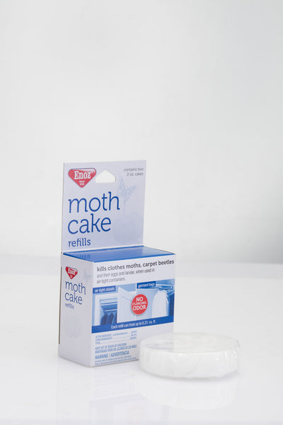 Enoz Moth Cake Refills 2 Count Willert Home Products