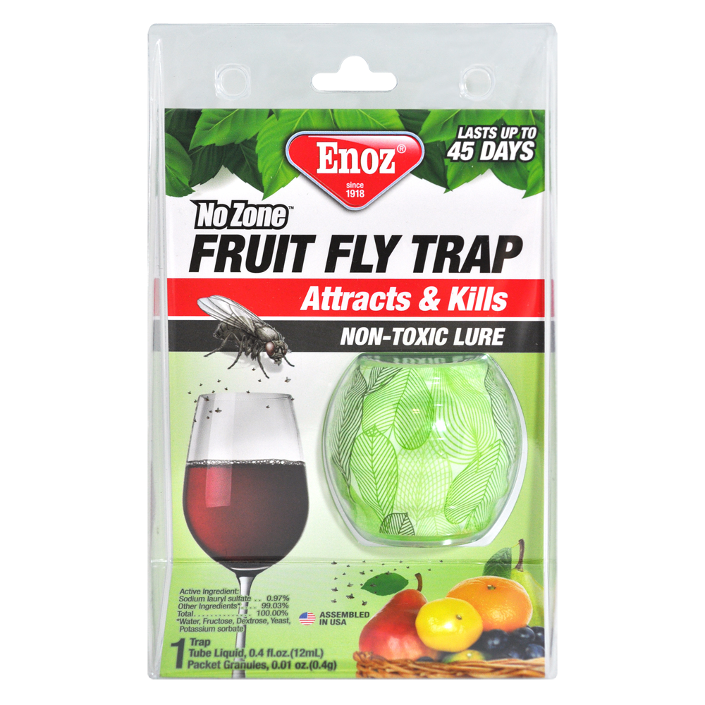 Wondrous Enoz Fruit Fly Trap Complete Home Design Collection Papxelindsey Bellcom