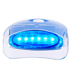 ADVANCED HOME TEETH WHITENING KIT WITH LED LASER LIGHT