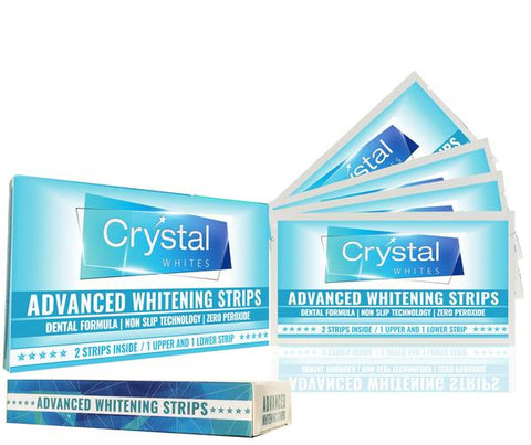 TEETH WHITENING STRIPS - 4 WEEK SUPPLY