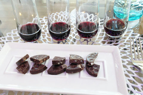 CocoaPlanet Wine & Chocolate Pairings