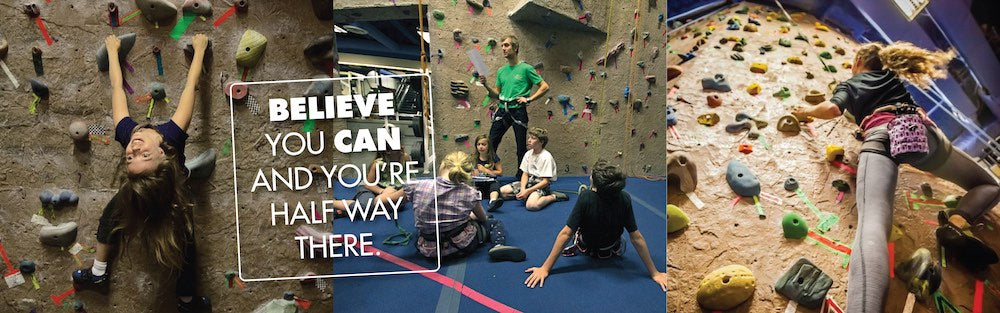 whistler core indoor rock climbing youth and kids activities