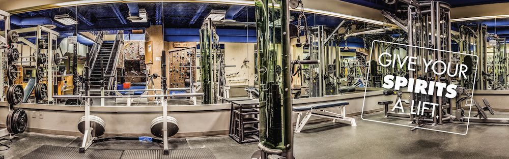 Whistler Olympic and power lifting free weights Matrix cable machines squat racks