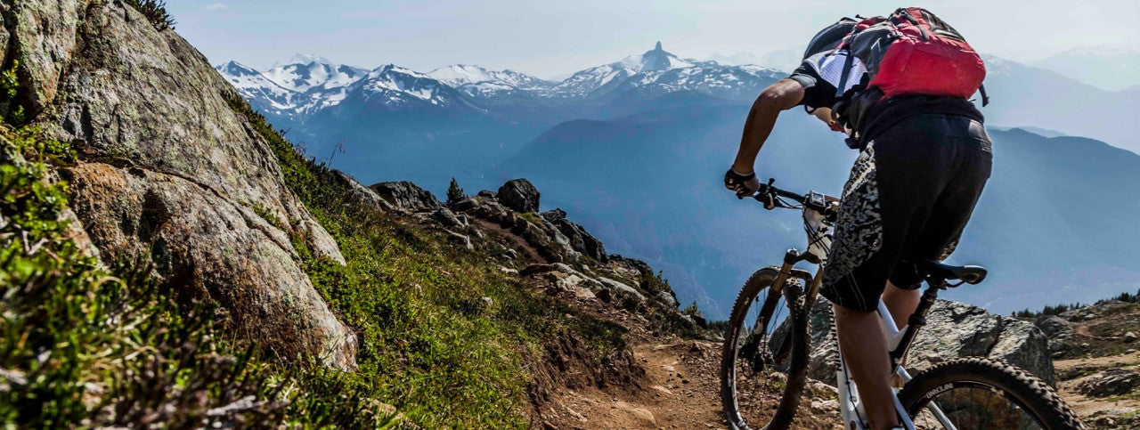 The Core Whistler Gym downhill mountain biking biker