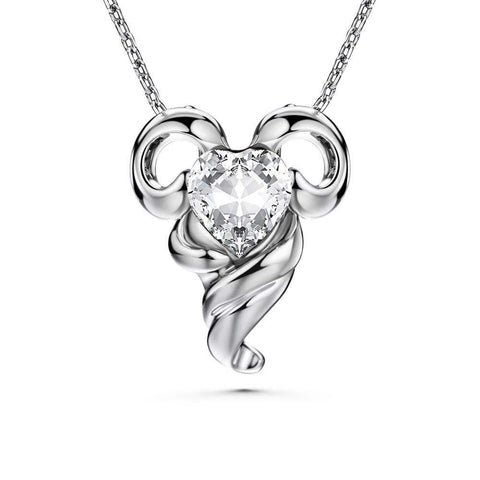 12 Degree Aries Necklace - Euro Sparkles