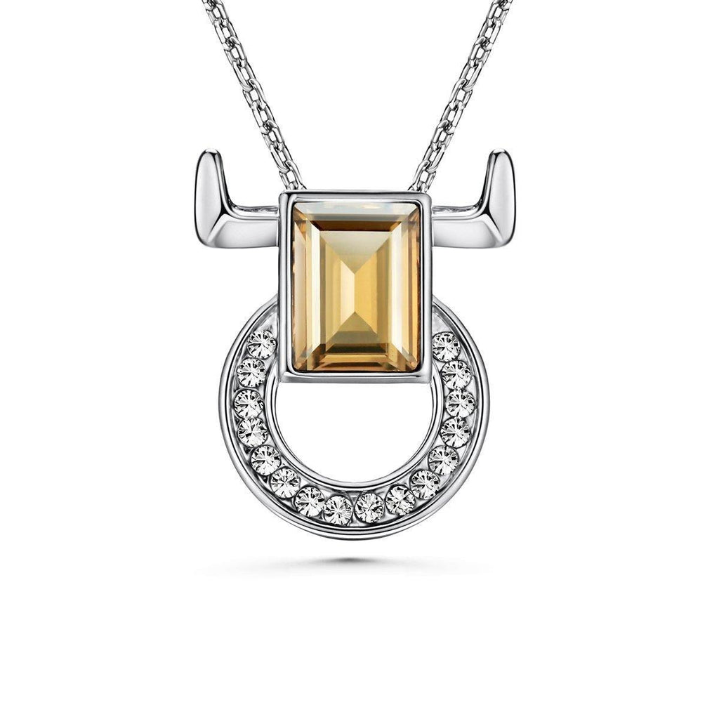 12 Degree Taurus Necklace - Euro Sparkles