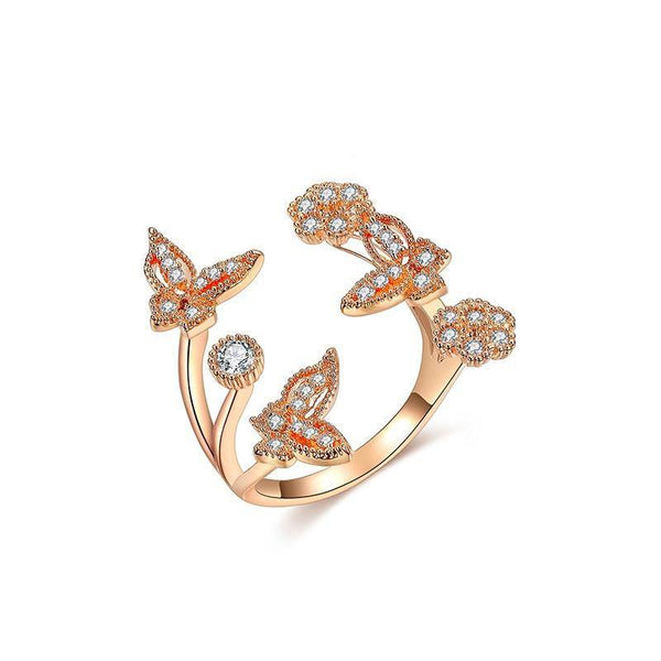 Elegancia la Butterfly Ring