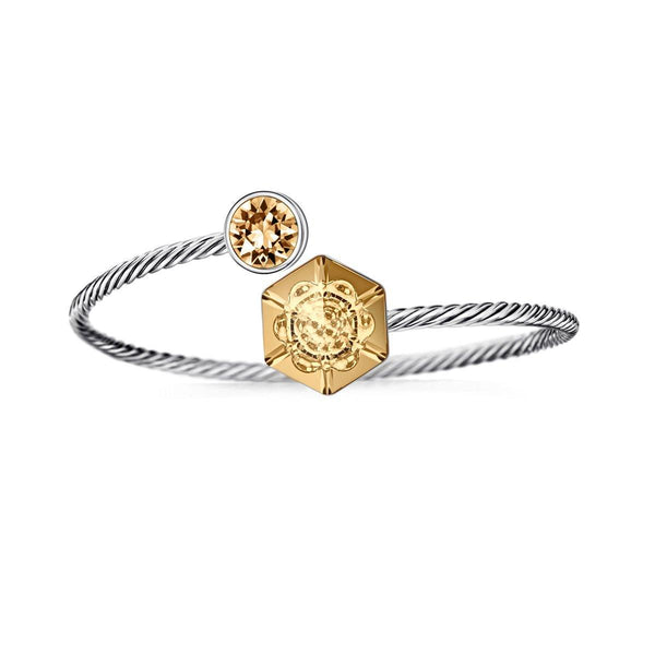 The Bella Sunflower Bracelet - Euro Sparkles