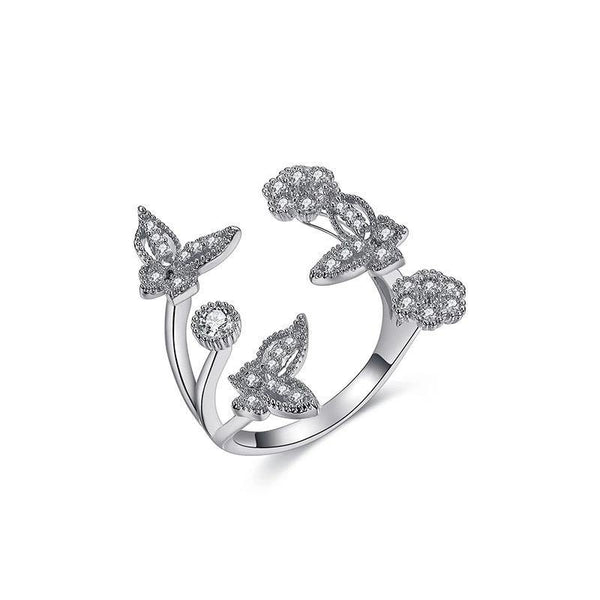 Elegancia la Butterfly Ring - Euro Sparkles