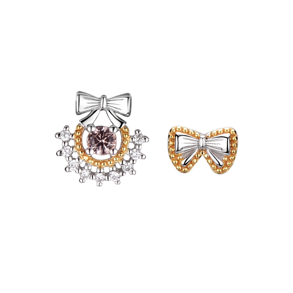 Twinkling Joy Bow Studs