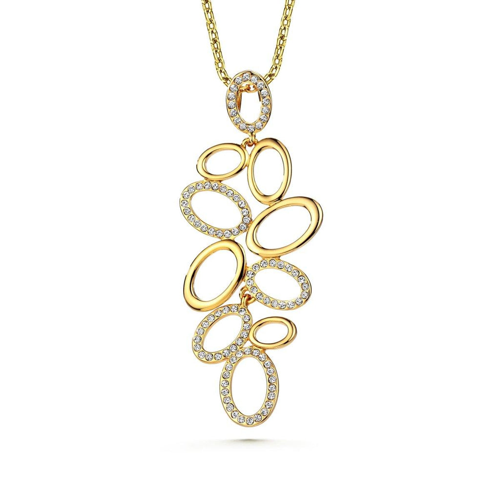 Elegancia Loop Necklace - Euro Sparkles