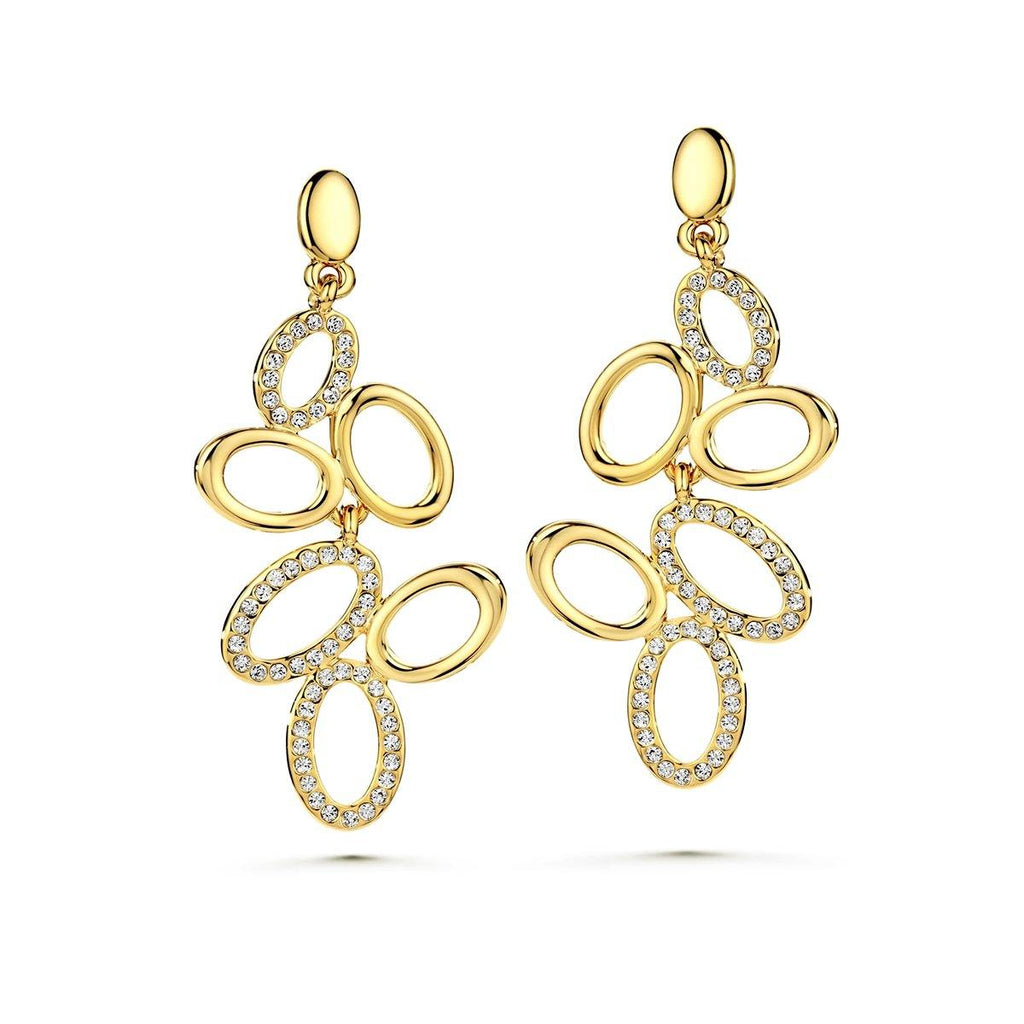Elegancia Loop Earrings - Euro Sparkles