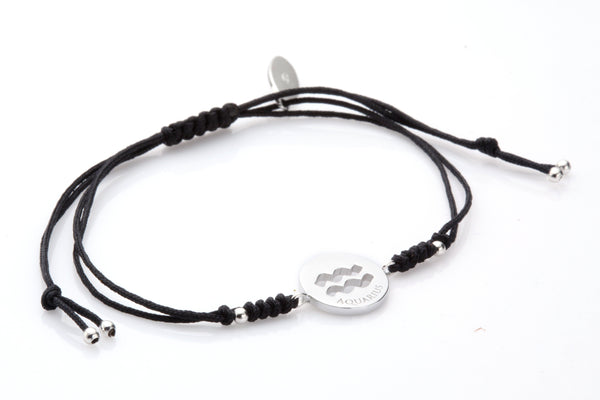 12 Degree Aquarius Bracelet - Euro Sparkles